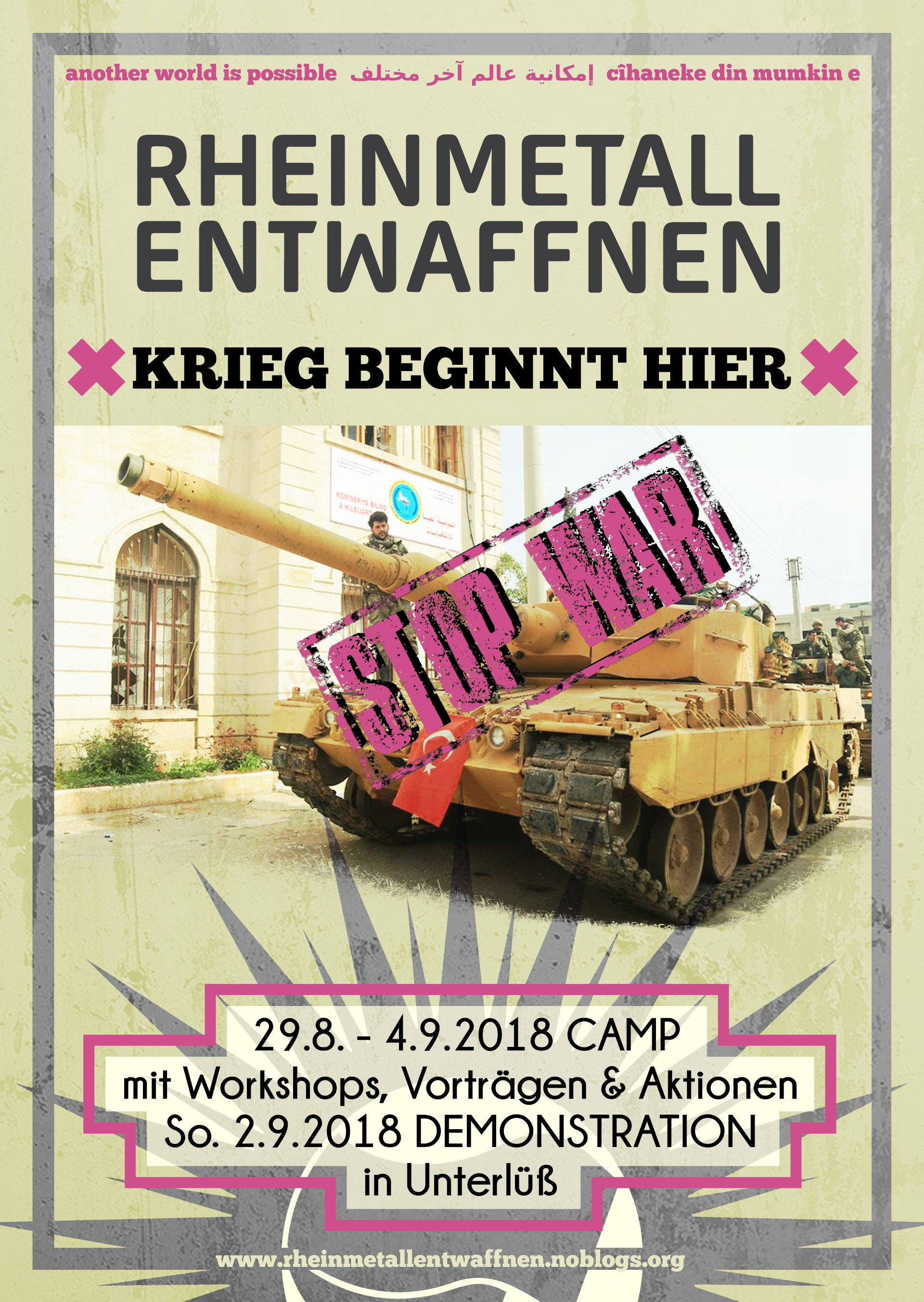Rheinmetall entwaffnen